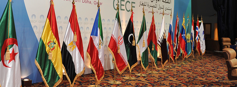 GECF Country Flags